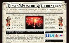 Lewes Bonfire Celebrations : History & Information - Coded With Love