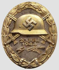 German WWII Wound Badges To Front Up The Michael Butler Militaria ...