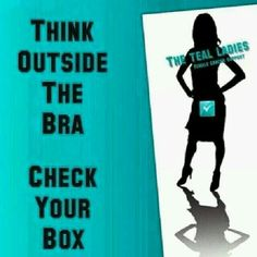 Love this, ovarian and cervical cancer awareness