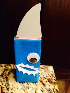 BIG EYED Shark Juice Box