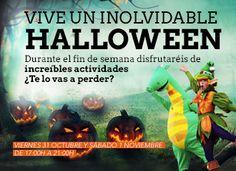 ¡Pasa un #Halloween inolvidable junto a nosotros!