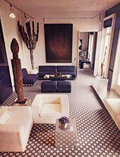 Paris apartment - Francois Catroux The NYT Book of Interior Design & Decoration©1976