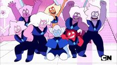 Steven Universe, Amethysts and Jaspers and holly Steven Universe Spoilers, Holly Blue, Draw The Squad, Lapidot, Fanart, Universe Art, Universe Theories, Tumblr, Cartoon Network