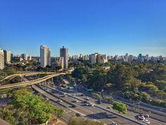 Mais uma de #Sampa visto do alto dessa vez do MAC! Porque né... não dá pra não amar essa cidade  #vemprasampameu