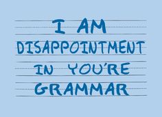 I could never wear this because, even though it's funny, I'm such a grammar nerd it would bother me.