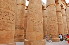 The Great Hypostyle Hall of Karnak-Büyük Hipostil salonu-Constructive: Pharaoh III. Amenhotep and I. Seti and II. Ramses-Year built: BC 1386&1213)-Luxor-Egypt