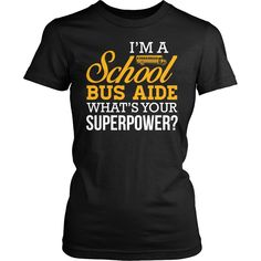 School Bus Aide - Superpower