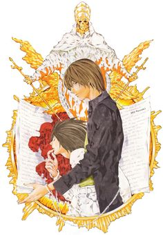 aka-ryuzaki: (Art by Takeshi Obata transparent edit by...