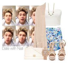 """""""Date with Niall"""" by smery09 ❤ liked on Polyvore featuring Forever New, Pull&Bear, ZALORA, DailyLook and Michael Kors"""