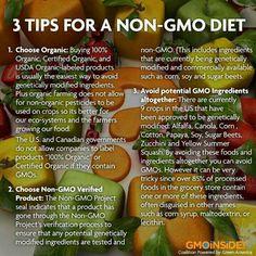 Non GMO Diet tips