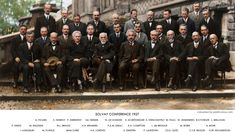 1927 at the fifth Solvay Conference, one of the most star-studded meetings of scientific minds in history. Notable attendees included Albert Einstein, Niels Bohr, Marie Curie, Erwin Schrödinger, Werner Heisenberg, Wolfgang Pauli, Paul Dirac and Louis de Broglie — to name a few. Of the 29 scientists in attendance (the majority of whom contributed to the fields of physics and chemistry), over half of them were, or would would go to become, Nobel laureates