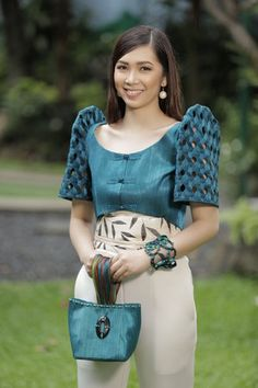 Filipiniana Wedding Theme, Modern Filipiniana Dress, Court Outfit, Filipino Fashion, Philippines Fashion, Sleeves Designs For Dresses, Types Of Dresses, Event Dresses, Casual Outfits