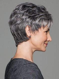 Incentive Petite is a barely-there, easy-care fashion cut with a hand-tied top for light, cool comfort and a sheer scalloped hairline for off-the-face styling. Short Hair Cuts, Short Hair Styles, Gabor Wigs, Monofilament Wigs, Short Wigs, Short Blonde, Pixie Haircut, Short Hairstyles For Women, Synthetic Wigs