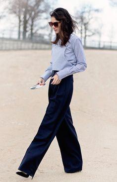 Exaggerated! / Leila Yavari, Paris Fashion Week / Garance Doré