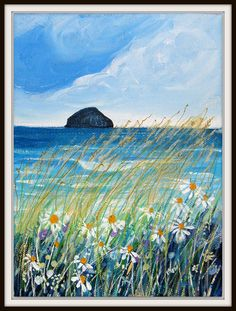 Rosemarie Taylor - Rosie stitch - Ailsa Craig from Ayrshire coast