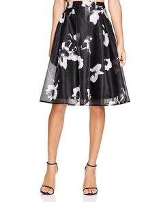 Lucy Paris Floral Print Pleated Midi Skirt - Bloomingdale's Exclusive | Bloomingdale's