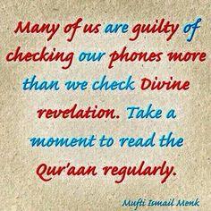 Quran regularly