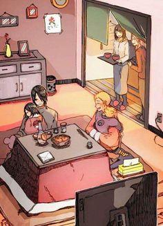 Uchiha and Uzumaki families #Naruto