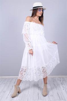 beyaz elbise ile ilgili görsel sonucu The Dress, Shoulder Dress, Satin, Romantic, Dresses, Style, Fashion, Vestidos, Romantic Fashion