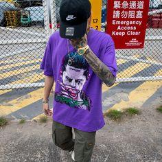 Unisex Suicide Squad Joker Printed Short Sleeves Sports T-shirt - Cosplay Costume Joker Costume, Cosplay Costumes, Beloved Movie, Sports Activities, Sport T Shirt, Printed Shorts, Squad, Short Sleeves, Unisex