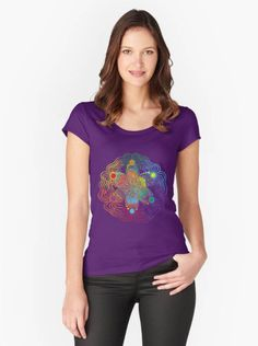 Simply awesome Fitted Scoop T with Rainbow. Find it in my shop ✨  https://www.etsy.com/listing/519410241/fitted-scoop-t-with-rainbow?utm_campaign=crowdfire&utm_content=crowdfire&utm_medium=social&utm_source=pinterest