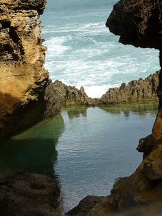 The Gorge @ Great Ocean Road, via Flickr. Victoria. The Loch Ard Gorge is part of Port Campbell National Park, Victoria Australia