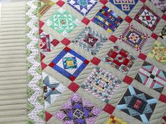 Really beautiful and expert work. Nearly Insane quilt - borders