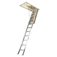 Werner Aluminium Attic Ladder AH2210AZ