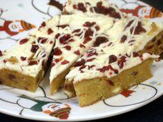 cranberry bliss bars recipe