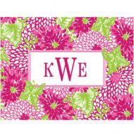 Lilly Pulitzer Foldover Note White Zin
