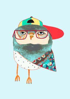 owl illustration - Google-søgning