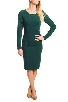 Brea Long Sleeve Classic Dress