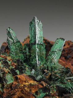 Atacamite Cu2Cl(OH)3 from the Mount Gunson Mine, Australia