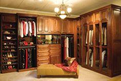 I like the closed doors...clean looking Custom Closet Design, Custom Closets, Closet Designs, Modern Closet Organizers, Master Closet, Walk In Closet, Master Suite, Closet Storage, Closet Organization