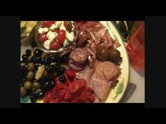 ▶ How to Construct An Antipasto Platter!! Noreen's Kitchen - Greetings! Lets put together that Antipasto platter I promised you! Get your favorite cured, or smoked meats together along with a couple of cheeses, & some brined, marinated &/or pickled veggies, slice a baguette & go to town! This is the perfect platter for a get together because it allows everyone to grab what they like _ YouTube