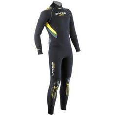Cressi Castoro 5mm Mens Monopiece Wetsuit | This product and more at http://www.watersportswarehouse.co.uk/shop/wetsuits/mens-wetsuits.html