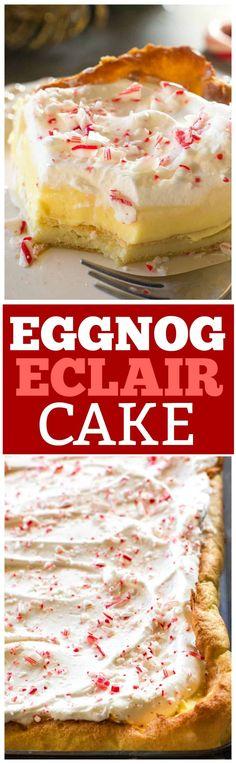 This Eggnog Éclair C