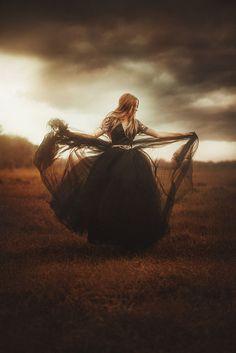 Woman In Black by TJ Drysdale on 500px