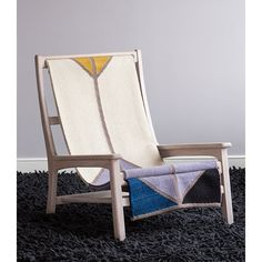Sling Chair with Wool Sling 0