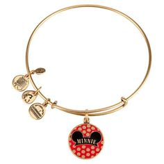 Your WDW Store - Disney Alex and Ani Charm Bracelet - Minnie Mouse Ear Hat - Gold