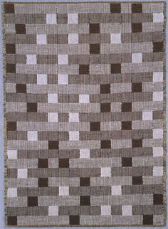 Anni Albers, Play of squares. The Josef & Anni Albers Foundation Anni Albers, Textile Fiber Art, Textile Design, Projects To Try, Rugs, Squares, Foundation, Play, Home Decor