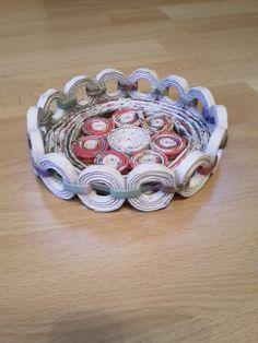 Konfektschälchen aus Papier