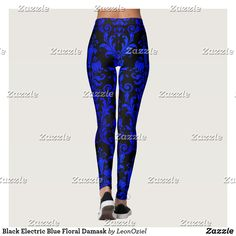Discover Elegant leggings at Zazzle! Use your own images and text or choose from thousands of patterns and designs. Gym Leggings, Leggings Fashion, Fitness Inspiration, Workout Inspiration, Gym Fashion, Fashion Outfits, Beautiful Yoga, Gym Style, Running Tights