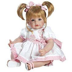 Reborn Baby Doll Lifelike Toddler Girl Vinyl Play Realistic Blonde Birthday Soft #RebornBabyDoll