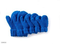 Hands Full Mittens - Patterns | Yarnspirations...free pattern!