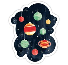"""Joy to the Universe"" Stickers by littleclyde 