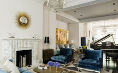 David Collins - ELEGANT GRADE II LISTED VILLA, LONDON, UK