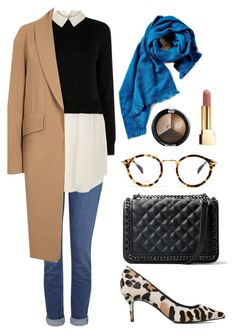 """""""City casual"""" by yourselffashion ❤ liked on Polyvore featuring Topshop, Oasis, Alexander Wang, MANGO, Yves Saint Laurent and CÉLINE"""