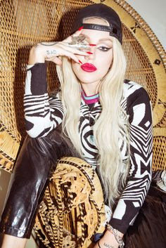 Alien Invasion - Brooke Candy-Wmag