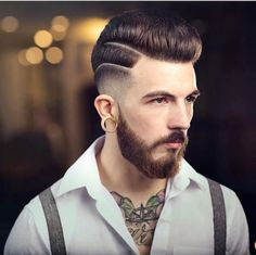 Hair tattoos for men - Tattoo Designs For Women!, [post_tags, Hair tattoos for men - Tattoo Designs For Women! Trendy Mens Haircuts, Popular Mens Hairstyles, Cool Hairstyles For Men, 2015 Hairstyles, Undercut Hairstyles, Military Hairstyles, Undercut Pompadour, Men's Haircuts, Vintage Hairstyles